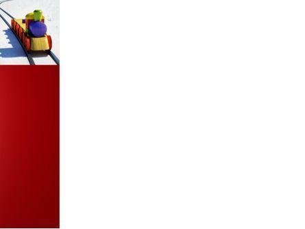Train Model PowerPoint Template, Slide 3, 04576, Cars and Transportation — PoweredTemplate.com