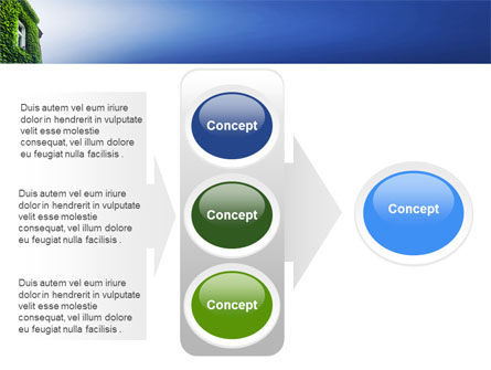 Green Front PowerPoint Template Slide 11