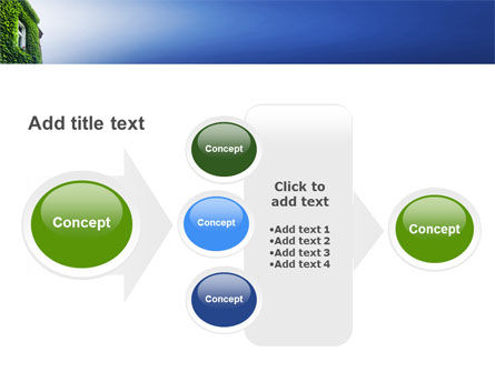 Green Front PowerPoint Template Slide 17