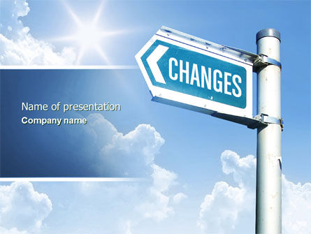 Changes PowerPoint Template