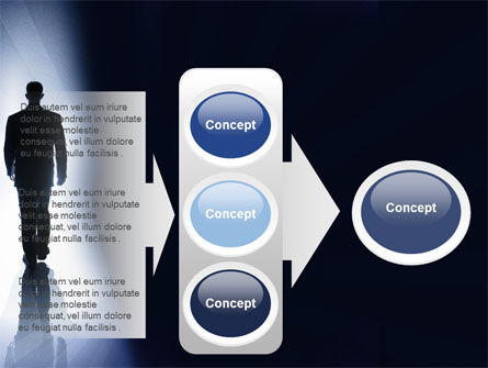 Road To Exit PowerPoint Template Slide 11
