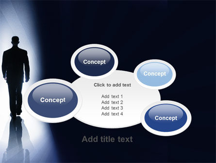 Road To Exit PowerPoint Template Slide 16