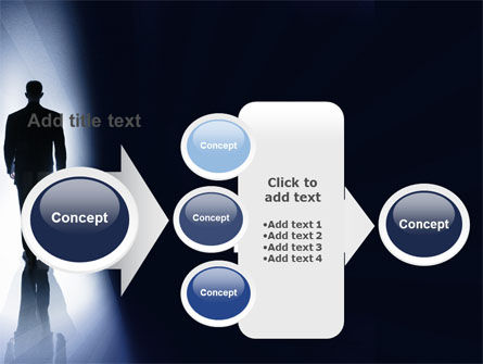 Road To Exit PowerPoint Template Slide 17