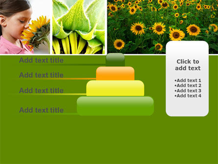 Sunflower Collage PowerPoint Template Slide 8