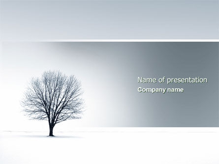 White Spaces PowerPoint Template