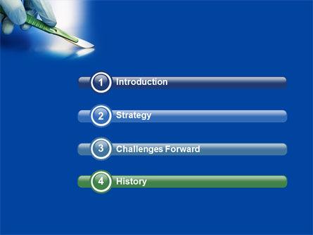 Scalpel PowerPoint Template, Slide 3, 04589, Medical — PoweredTemplate.com
