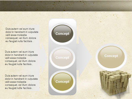 Boxes PowerPoint Template Slide 11