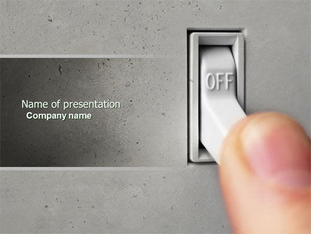 Switch Off PowerPoint Template