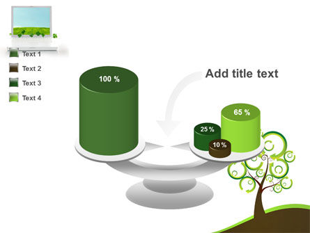 Green Solution PowerPoint Template Slide 10