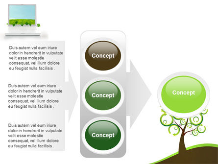 Green Solution PowerPoint Template Slide 11