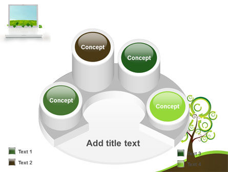 Green Solution PowerPoint Template Slide 12