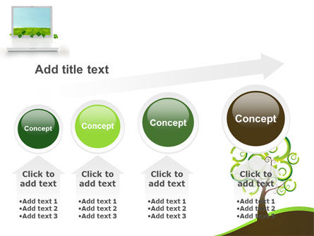 Green Solution PowerPoint Template Slide 13