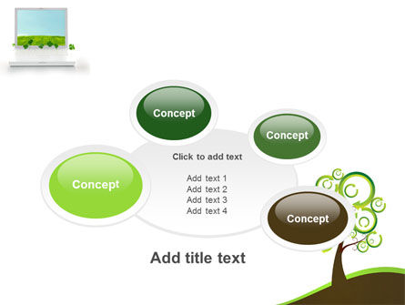 Green Solution PowerPoint Template Slide 16