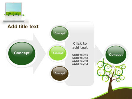 Green Solution PowerPoint Template Slide 17