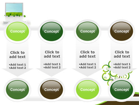 Green Solution PowerPoint Template Slide 18