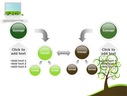 Green Solution PowerPoint Template Slide 19