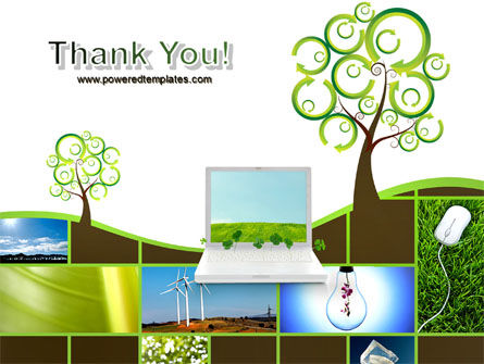 Green Solution PowerPoint Template Slide 20