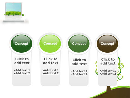 Green Solution PowerPoint Template Slide 5