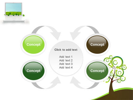 Green Solution PowerPoint Template Slide 6