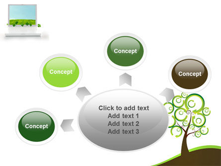 Green Solution PowerPoint Template Slide 7