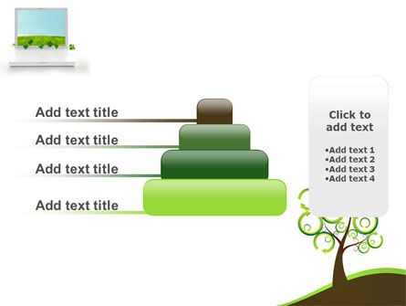 Green Solution PowerPoint Template Slide 8