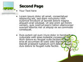 Green Solution PowerPoint Template#2