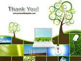 Green Solution PowerPoint Template#20