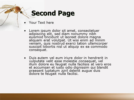Mosquito powerpoint template backgrounds 04599 poweredtemplate mosquito powerpoint template slide 2 04599 animals and pets poweredtemplate toneelgroepblik Gallery
