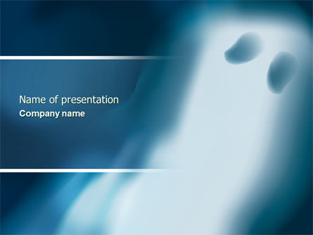 Ghost PowerPoint Template, 04600, Technology and Science — PoweredTemplate.com
