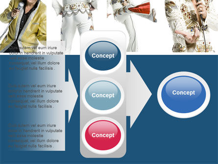 Elvis Presley PowerPoint Template Slide 11