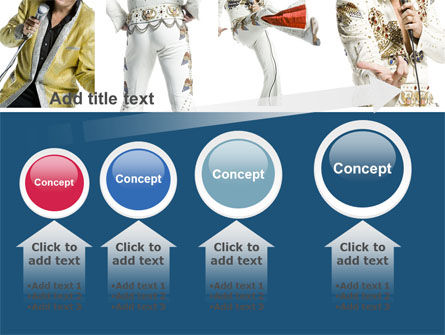 Elvis Presley PowerPoint Template Slide 13
