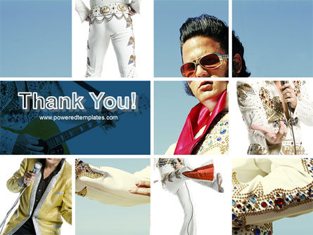 Elvis Presley PowerPoint Template Slide 20