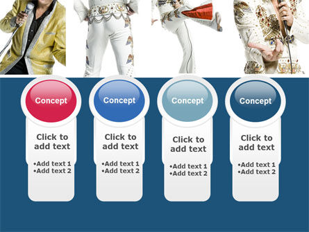 Elvis Presley PowerPoint Template Slide 5