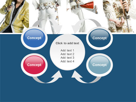 Elvis Presley PowerPoint Template Slide 6