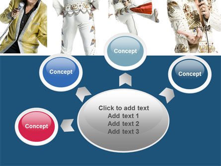 Elvis Presley PowerPoint Template Slide 7