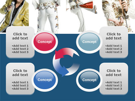 Elvis Presley PowerPoint Template Slide 9