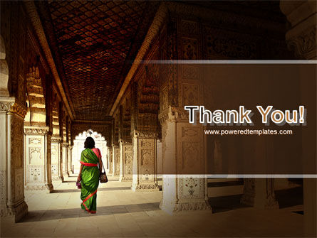 Hindu Temple PowerPoint Template Slide 20