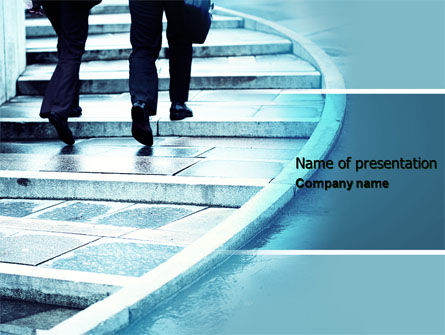 Business Concepts: Pavement PowerPoint Template #04606