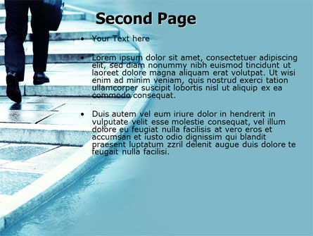 Pavement PowerPoint Template, Slide 2, 04606, Business Concepts — PoweredTemplate.com