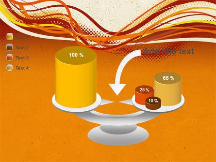 Orange Lines PowerPoint Template Slide 10