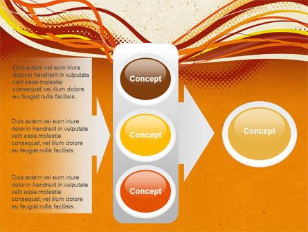 Orange Lines PowerPoint Template Slide 11