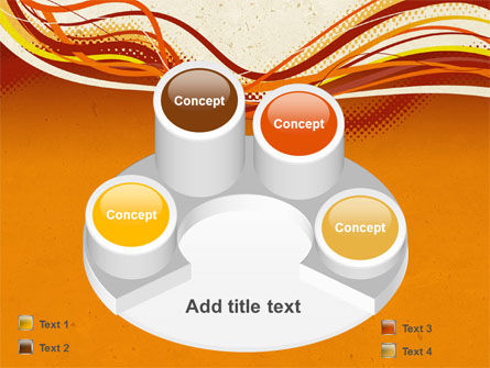 Orange Lines PowerPoint Template Slide 12