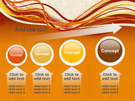 Orange Lines PowerPoint Template Slide 13