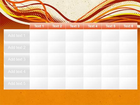Orange Lines PowerPoint Template Slide 15