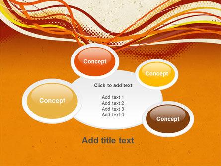 Orange Lines PowerPoint Template Slide 16