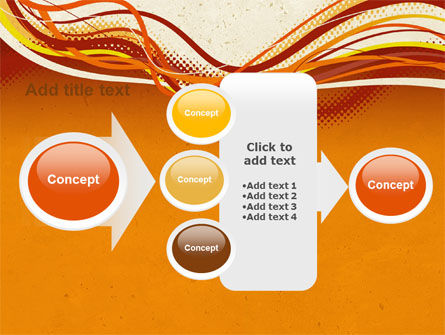 Orange Lines PowerPoint Template Slide 17