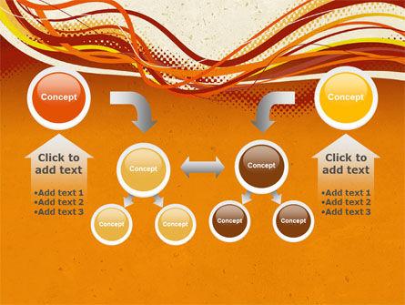 Orange Lines PowerPoint Template Slide 19