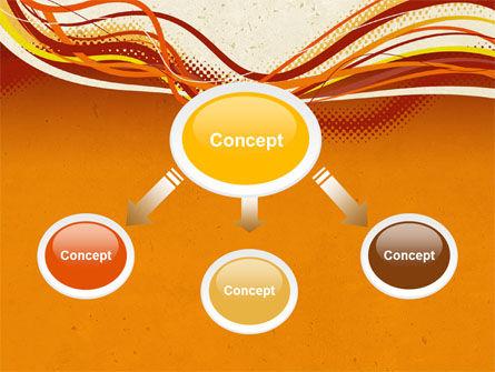Orange Lines PowerPoint Template Slide 4