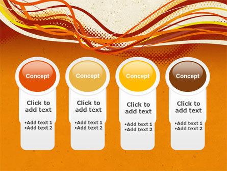 Orange Lines PowerPoint Template Slide 5