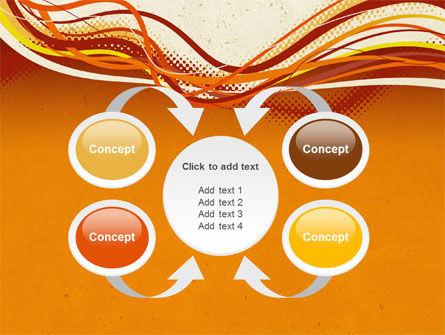 Orange Lines PowerPoint Template Slide 6